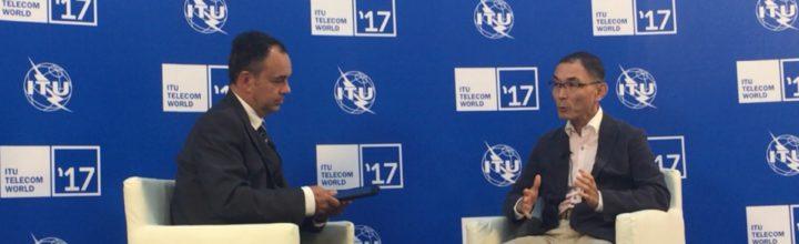 【メディア】ITUによるインタビューが掲載されました