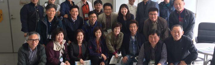 【報告】KAIST(韓国国立大学)様が視察に来られました