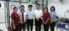 チェンマイの7病院にプチモバイルCTGを納入しました