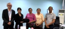 ミャンマーにプチモバイルCTGを納入しました